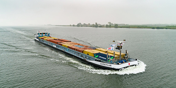 Working towards zero emission inland shipping